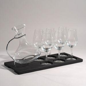 MAISONS DU MONDE - support 6 verres + carafe - Portabicchieri