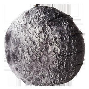 MEROWINGS - moon cushion - Cuscino Rotondo