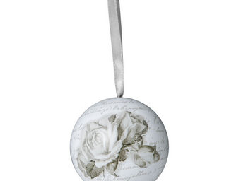 Mathilde M - boule décorative roses - Sfera Decorativa