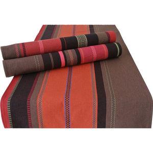 Les Toiles Du Soleil - double set de table tsar rouge - Tovaglietta