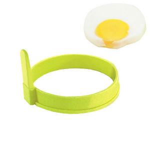 WHITE LABEL - 2 moules ronds pour les oeufs au plat ou les panca - Stampo Per Dolci