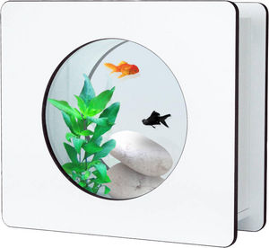 ZOLUX - aquarium nano fashion blanc 6 l 32.5x12.2x29.5cm - Acquario