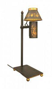 Demeure et Jardin - lampe de bureau tole peinte - Lampada Per Scrivania