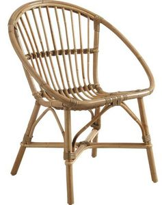 Aubry-Gaspard - fauteuil en manau - Poltrona Da Giardino