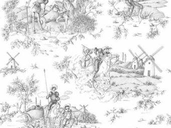 THEVENON - don quichotte - Tessuto D'arredamento Per Sedie