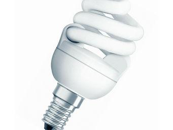 Osram - ampoule fluo compacte spirale e14 2500k 7w = 40w | - Lampada Fluorescente Compatta