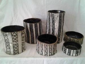 ARTISANAT TUNISIEN -  - Bicchiere Portacandela