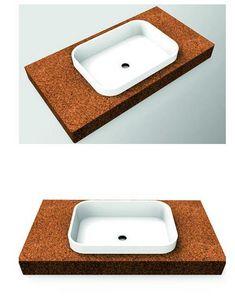 AMA DESIGN - sand - Lavabo D'appoggio
