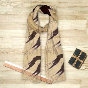 la Magie dans l'Image - foulard de loin pillow - Foulard Quadrato