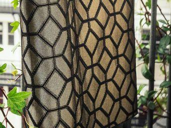 THEVENON - cellini bronze - Tessuto D'arredamento