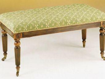 Clock House Furniture - tyninghame ii stool t37 - Poggiapiedi