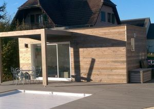 WOOD DESIGN -  - Pool House