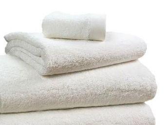 Liou - drap de bain ivoire - Asciugamano Grande