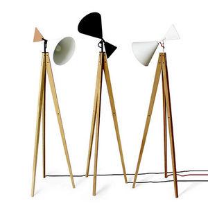 UBIKUBI - light tale - Lampada Da Terra Treppiede