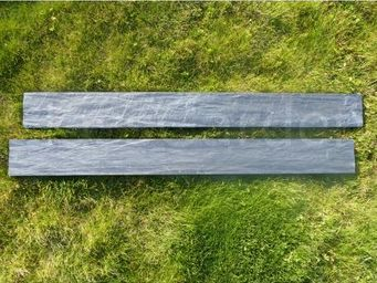 CLASSGARDEN - bordure piquet d'ardoise scie 0.5 mètre - pack de - Bordura Da Giardino