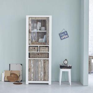 BOIS DESSUS BOIS DESSOUS - vaisselier en bois de pin recyclé 70 atlantic - Credenza Con Piattaia