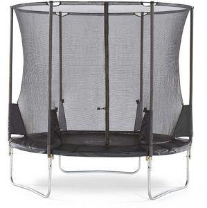 Plum - trampoline avec filet innovant 3g spacezone - Trampolino Elastico