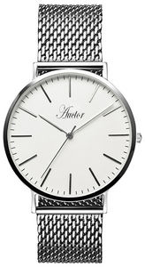 AUCTOR - l'élégante silver 40 - Orologio