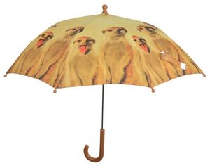 KIDS IN THE GARDEN - parapluie enfant out of africa suricate - Ombrello