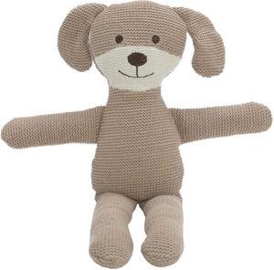 Amadeus - peluche chien malin tricot - Peluche