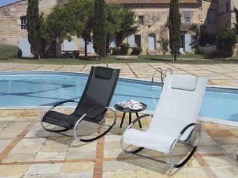 BELIANI - chaise de jardin - Sedia A Dondolo