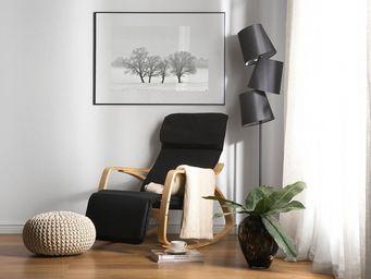 BELIANI - fauteuil à bascule - Sedia A Dondolo