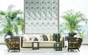 VETROVIVO - nature foglie - Piastrella A Mosaico