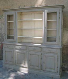 Coup De Soleil - sénanque 4 portes - Credenza Con Piattaia
