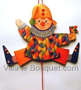 Villa Le Bosquet - clown - Burattino