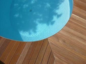 TEKABOIS - platelage : lames de terrasse bangkirai - Pavimento Per Terrazzo