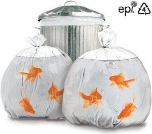 Suck Uk - goldfish - Sacco Spazzatura