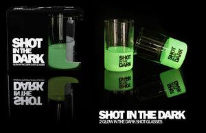 Bicchiere fluorescente