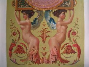 NICOLE BRUN - détail - Pannello Decorativo