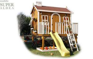 CABANES GREEN HOUSE - super aldea - Casetta Da Giardino Per Bambini