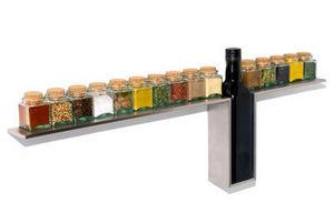 DESU Design - 1-line spice rack - Mensola Portaspezie