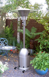 Urban Industry - stainless steel patio heater - free delivery - Ombrello Riscaldato A Gas