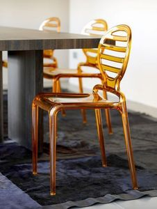 SCAB DESIGN - cokka chair - Sedia Impilabile