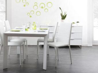 Miliboo - vienna chaise - Tavolo Da Pranzo Rettangolare
