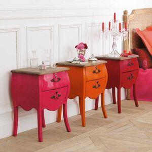 Maisons du monde - chevet rose haute couture - Comodino