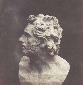 LINEATURE - the bust of patruclus - 1843 - Fotografia