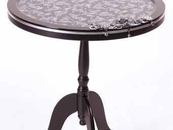 RELOADED DESIGN - mini table silver dragons medium - Tavolino Di Servizio