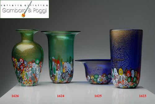 Gambaro & Poggi Murano Glass - Vaso da fiori-Gambaro & Poggi Murano Glass-ECONOMICO
