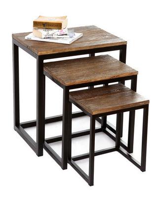Miliboo - Tavolini sovrapponibili-Miliboo-FACTORY TABOURET